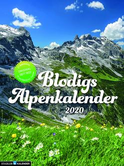 Blodigs Alpenkalender 2020 von Verschiedene