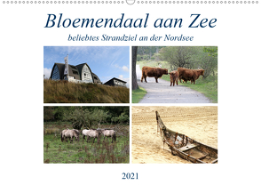 Bloemendaal aan Zee (Wandkalender 2021 DIN A2 quer) von SchnelleWelten