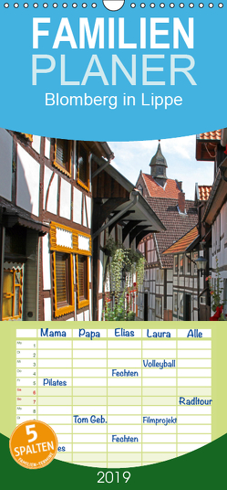Blomberg in Lippe – Familienplaner hoch (Wandkalender 2019 , 21 cm x 45 cm, hoch) von Berg,  Martina