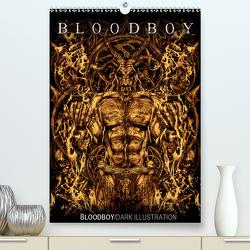 BLOODBOY/DARK ILLUSTRATION (Premium, hochwertiger DIN A2 Wandkalender 2021, Kunstdruck in Hochglanz) von BLOODBOY