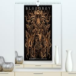 BLOODBOY/FEAR ILLUSTRATION (Premium, hochwertiger DIN A2 Wandkalender 2021, Kunstdruck in Hochglanz) von BLOODBOY