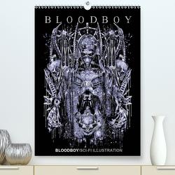BLOODBOY/SCI-FI ILLUSTRATION (Premium, hochwertiger DIN A2 Wandkalender 2021, Kunstdruck in Hochglanz) von BLOODBOY