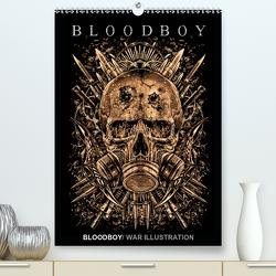 BLOODBOY/WAR ILLUSTRATION (Premium, hochwertiger DIN A2 Wandkalender 2021, Kunstdruck in Hochglanz) von BLOODBOY