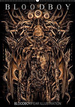 BLOODBOY/FEAR ILLUSTRATION (Wandkalender 2019 DIN A2 hoch) von BLOODBOY