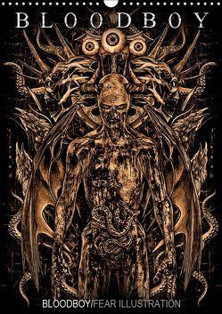 BLOODBOY/FEAR ILLUSTRATION (Wandkalender 2019 DIN A3 hoch) von BLOODBOY
