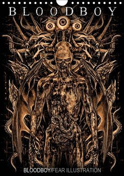 BLOODBOY/FEAR ILLUSTRATION (Wandkalender 2019 DIN A4 hoch) von BLOODBOY