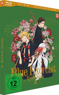 Blue Exorcist: Kyoto Saga (2. Staffel) – Blu-Ray 2 von Hatsumi,  Koichi