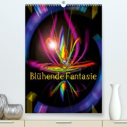Blühende Fantasie – Digitalkunst (Premium, hochwertiger DIN A2 Wandkalender 2020, Kunstdruck in Hochglanz) von Zettl,  Walter