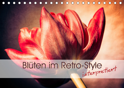 Blüten im Retro-Style (Tischkalender 2019 DIN A5 quer) von Foto-FukS