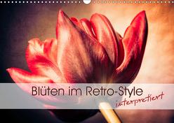 Blüten im Retro-Style (Wandkalender 2019 DIN A3 quer) von Foto-FukS