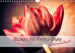 Blüten im Retro-Style (Wandkalender 2019 DIN A4 quer) von Foto-FukS