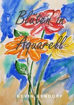 Blüten in Aquarell von Bendorf,  Kevin