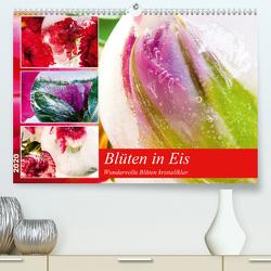 Blüten in Eis (Premium, hochwertiger DIN A2 Wandkalender 2020, Kunstdruck in Hochglanz) von Heiligenstein,  Marc