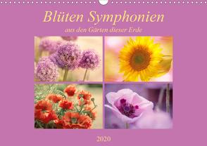 Blüten Symphonien aus den Gärten dieser Erde (Wandkalender 2020 DIN A3 quer) von Riedel,  Tanja