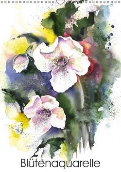 Blütenaquarelle (Wandkalender 2019 DIN A3 hoch) von Krause,  Jitka