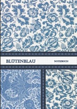 Blütenblau Notizbuch von Viola,  Iris A.