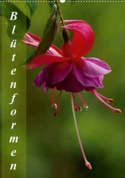 Blütenformen (Wandkalender 2021 DIN A2 hoch) von Schumann,  Bianca