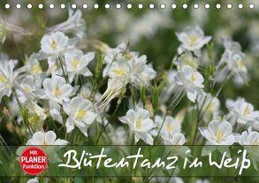 Blütentanz in Weiß (Tischkalender 2018 DIN A5 quer) von Kruse,  Gisela