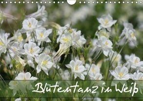 Blütentanz in Weiß (Wandkalender 2018 DIN A4 quer) von Kruse,  Gisela