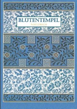 Blütentempel Notizbuch von Viola,  Iris A.