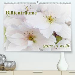 Blütenträume – ganz in weiß / CH-Version (Premium, hochwertiger DIN A2 Wandkalender 2021, Kunstdruck in Hochglanz) von Art-Motiva