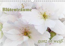 Blütenträume – ganz in weiß / CH-Version (Wandkalender 2019 DIN A4 quer) von Art-Motiva