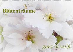 Blütenträume – ganz in weiß / CH-Version (Wandkalender 2021 DIN A2 quer) von Art-Motiva