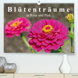 Blütenträume in Rosa und Pink (Premium, hochwertiger DIN A2 Wandkalender 2021, Kunstdruck in Hochglanz) von LianeM