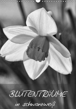 Blütenträume in schwarzweiß (Wandkalender 2019 DIN A3 hoch) von Reuke,  Sabine
