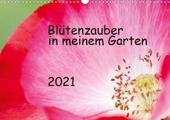 Blütenzauber in meinem Garten (Wandkalender 2021 DIN A3 quer) von JuSev