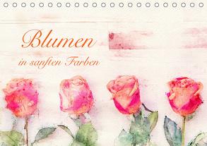 Blumen in sanften Farben (Tischkalender 2020 DIN A5 quer) von Werner / Wernerimages,  Peter