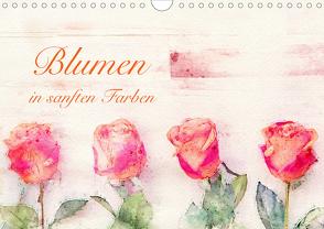 Blumen in sanften Farben (Wandkalender 2020 DIN A4 quer) von Werner / Wernerimages,  Peter