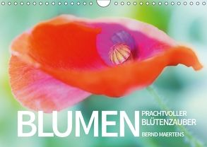 BLUMEN Prachtvoller Blütenzauber (Wandkalender 2018 DIN A4 quer) von Maertens,  Bernd