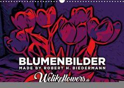 Blumenbilder-Kalender (Wandkalender 2019 DIN A3 quer) von RHB-DESIGN