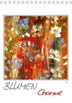 Blumencharme (Tischkalender 2019 DIN A5 hoch) von Gründler,  Claudia