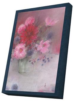 Blumengrüße – Kunst-Faltkarten im Schmuckkarton von Bahlinger,  Stefanie