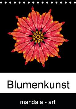 Blumenkunst – mandala-art (Tischkalender 2019 DIN A5 hoch) von Wurster,  Beate