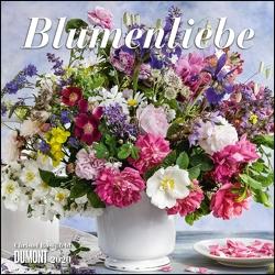 Blumenliebe 2020 – Broschürenkalender – Mit Gedichten – Format 30 x 30 cm von DUMONT Kalenderverlag, Rosenfeld,  Christel
