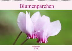 Blumenpärchen (Wandkalender 2019 DIN A2 quer) von Kruse,  Gisela