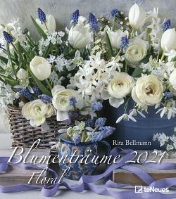 Blumenträume 2021 – Foto-Kalender – Wand-Kalender – 30×34 – Blumen-Traum von Bellmann,  Rita