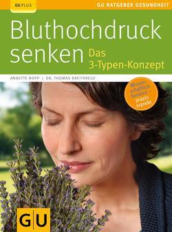 Bluthochdruck senken von Bopp,  Annette, Breitkreuz,  Thomas