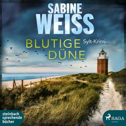 Blutige Düne von Carlsen,  Brigitte, Weiß,  Sabine