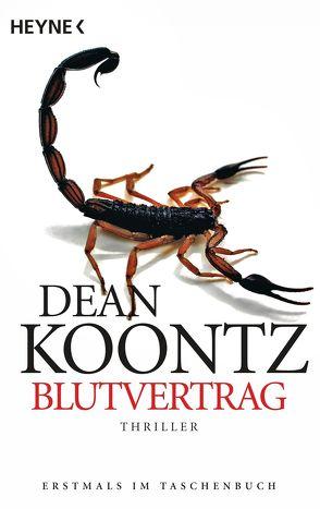 Blutvertrag von Kleinschmidt,  Bernhard, Koontz,  Dean