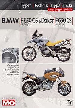 BMW F650 Typen-Technik-Tipps-Tricks von Jung,  Thomas
