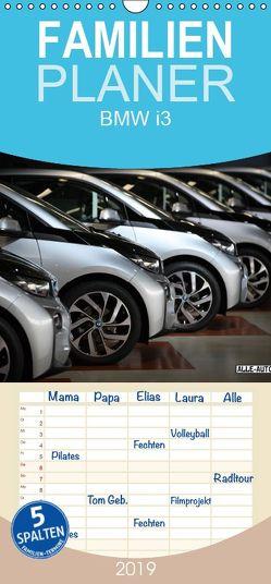 BMW i3 – Familienplaner hoch (Wandkalender 2019 , 21 cm x 45 cm, hoch) von Wolff,  Juergen