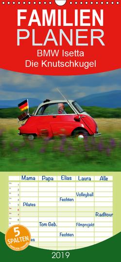 BMW Isetta – Die Knutschkugel – Familienplaner hoch (Wandkalender 2019 , 21 cm x 45 cm, hoch) von Laue,  Ingo