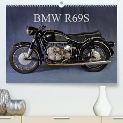 BMW R69S (Premium, hochwertiger DIN A2 Wandkalender 2021, Kunstdruck in Hochglanz) von Laue,  Ingo