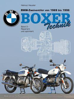 BMW Zweiventiler von 1969 bis 1996 – Boxer Technik von Heusler,  Helmut