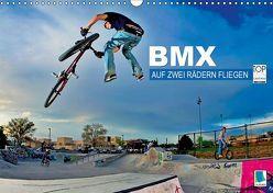 BMX – Auf zwei Rädern fliegen (Wandkalender 2019 DIN A3 quer) von CALVENDO,  k.A.