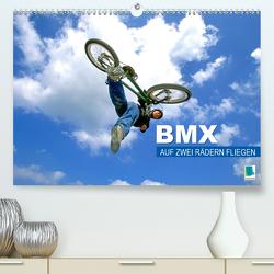 BMX – Auf zwei Rädern fliegen (Premium, hochwertiger DIN A2 Wandkalender 2020, Kunstdruck in Hochglanz) von CALVENDO